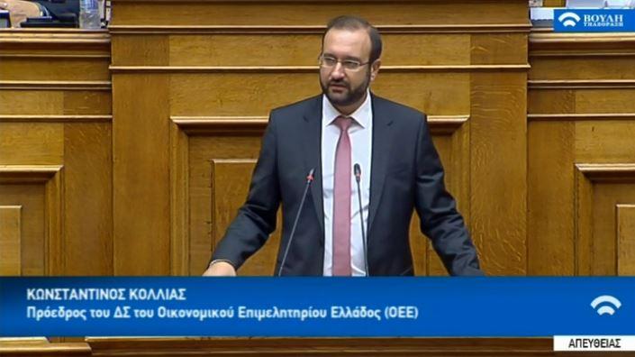 Πρόεδρος ΟΕΕ: Ο αναπτυξιακός κινητοποιεί τις παραγωγικές δυνάμεις της οικονομίας